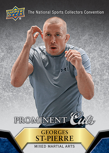 2015-Upper-Deck-National-Sports-Collectors-Convention-Prominent-Cuts-George-St-Pierre