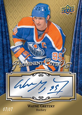 2016-Upper-Deck-National-Sports-Collectors-Convention-NSCC-Prominent-Cuts-VIP-Wayne-Gretzky-Autograph