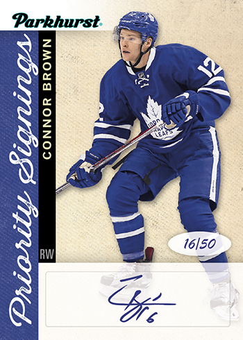 2017-Upper-Deck-Parkhurst-Priority-Signings-Spring-Expo-Connor-Brown