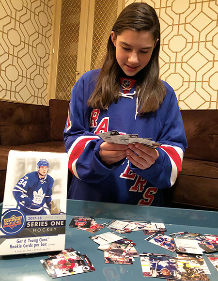 Sabrina-Solomon-kid-blogger-girl-hockey-fan-upper-deck-series-one-collector-1