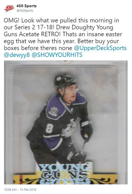upper-deck-easter-egg-unannounced-insert-nhl-cards-young-guns-acetate-retro-rookie-drew-doughty