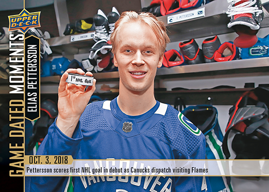 2018-19-upper-deck-nhl-game-dated-moments-elias-pettersson-vancouver-canucks