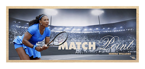 upper-deck-authenticated-collectible-serena-williams-match-point-maple-wood-print-unsigned-91515