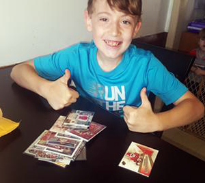 donate old trading cards collectibles kids