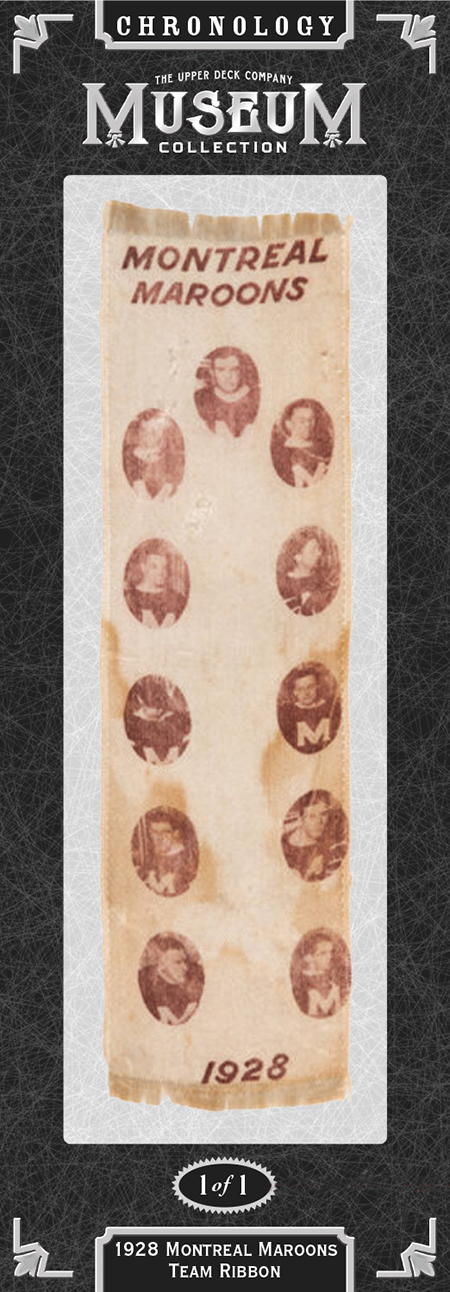 upper deck chronology 1928 montreal maroons