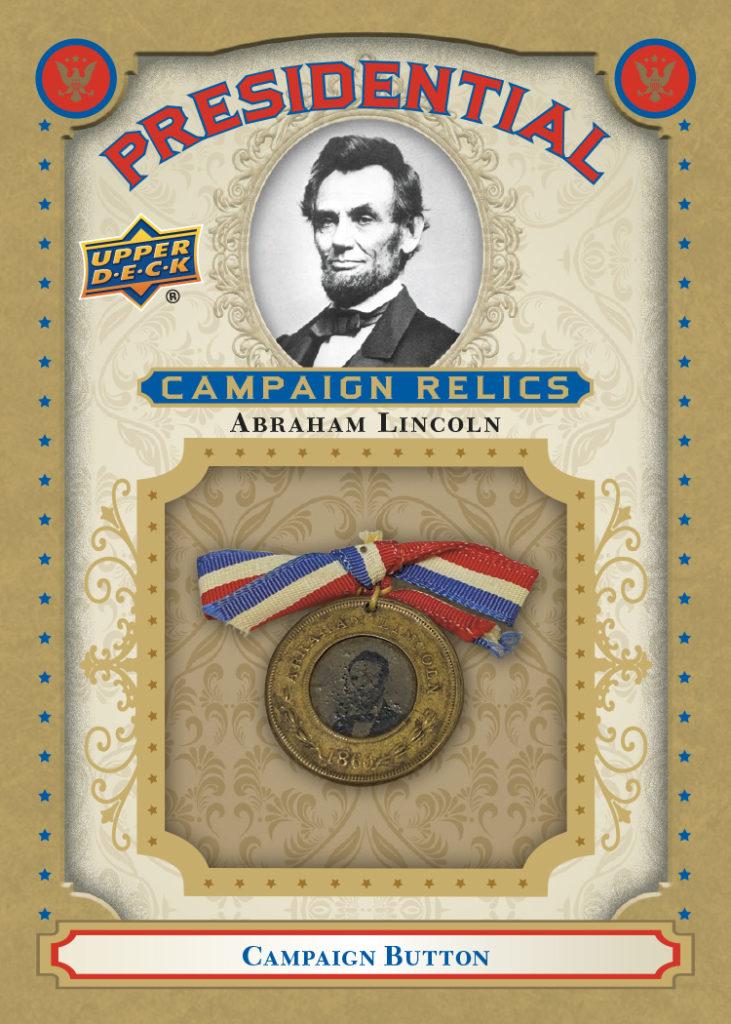 Abraham Lincoln President Card