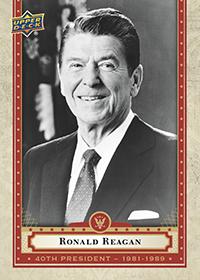 Ronald Reagan Presidential Card