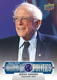 Bernie Sanders Democratic Candidate Card