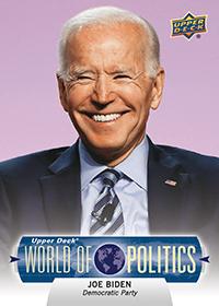 Joe Biden Democratic Candidate Card
