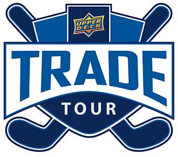 upper deck trade tour logo hockey card show