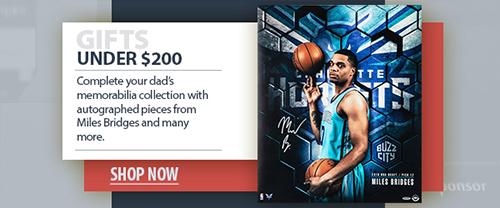 2020 father's day basketball memorabilia under $200