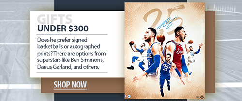 2020 father's day basketball memorabilia under $300
