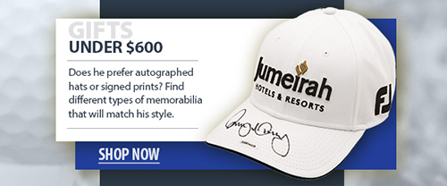 2020 father's day golf memorabilia under $600