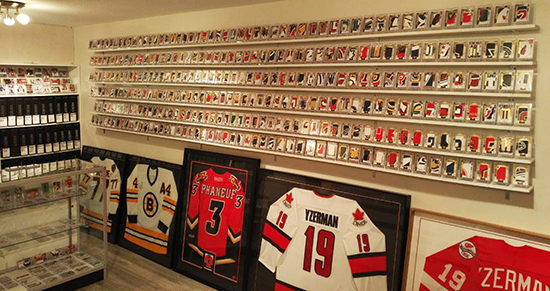 large trading card collectibles collection