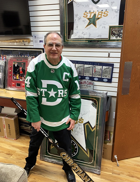 upper deck hobby shop nhl stanley cup playoffs nick's sports memorabilia dallas dean fuller