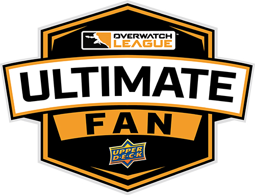 upper deck overwatch league ultimate fan logo