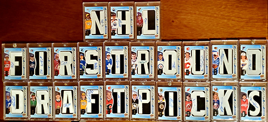 Upper Deck NHL First Round Draft Pick SP Game Used