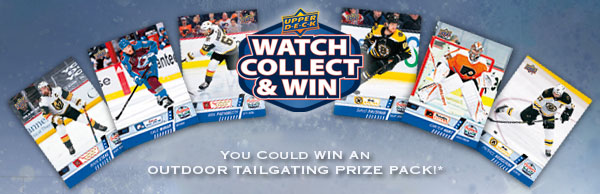 Watch, Collect, and Win Contest - 2021 NHL Outdoor Games at Lake Tahoe