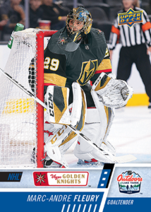 NHL Outdoor Games at Lake Tahoe - Marc-Andre Fleury Card