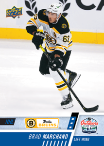 NHL Outdoor Games at Lake Tahoe - Brad Marchand Card