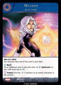 1-2021-upper-deck-vs-system-2pcg-marvel-mystic-arts-plot-twist-spell-weaken