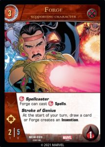 3-2021-upper-deck-vs-system-2pcg-marvel-mystic-arts-supporting-character-forge