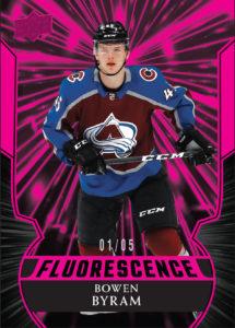 Bowen Byram - Florescence - 2020-21 Upper Deck NHL Series 2