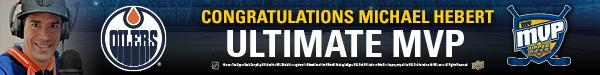 2021 Upper Deck Ultimate MVP Winner Michael Hebert