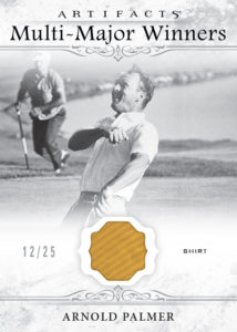 Arnold Palmer Multi Major Winners Card