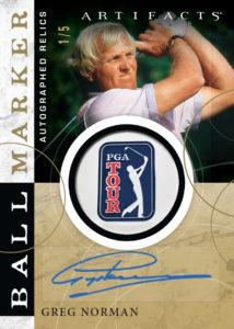 Greg Norman Ball Marker Card