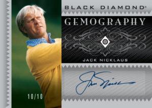 Jack Nicklaus Black Diamond Geomography