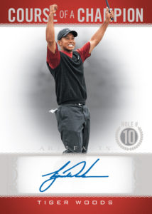 Tiger Woods Course of a Champion Card