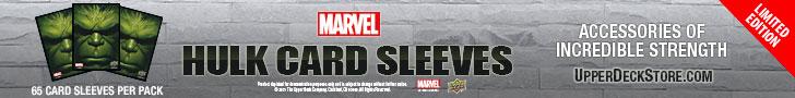 Marvel Hulk Gaming Card Sleeves - Buy Now