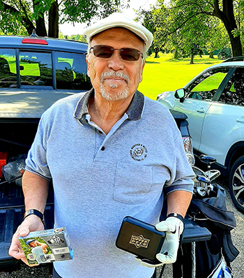 upper deck fathers day udrak golf card collector
