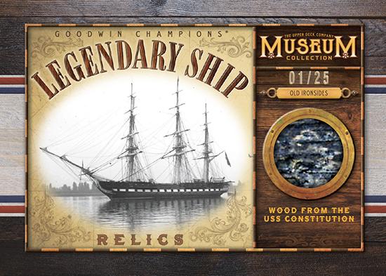 upper deck goodwin champions legendary ship relics