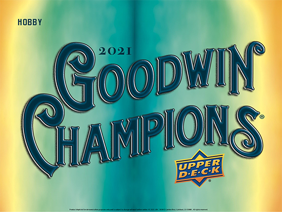 2021 upper deck goodwin champions