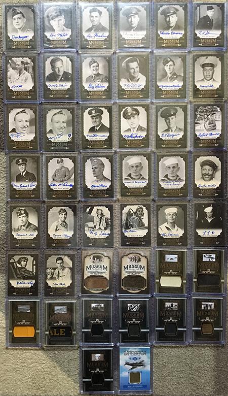 upper deck goodwin champions museum collection autographs