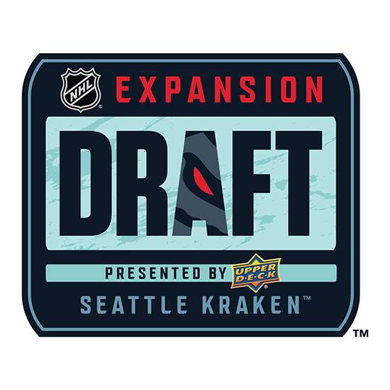 upper deck nhl expansion draft seattle kraken logo