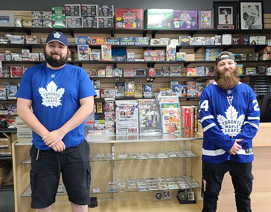 players cards collectibles toronto maple leafs hobby shop dealer upper deck