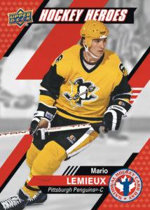 Mario Lemieux NHCD Card