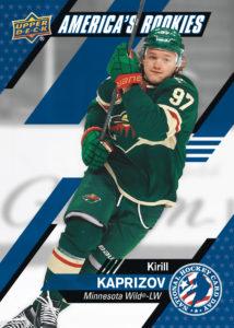 Kirill Kaprizov NHCD Card