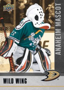 Wild Wing NHCD Anaheim Ducks Mascot Card