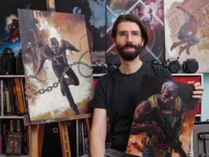 David Palumbo, Digital Illustrator