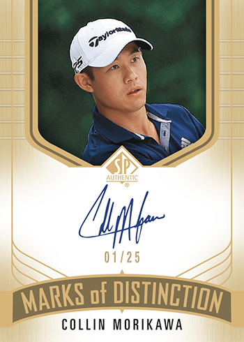 upper deck sp authentic marks of distinction autograph upper deck trading card open