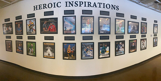 upper deck wall of inspiration corporate giving cause marketing charity