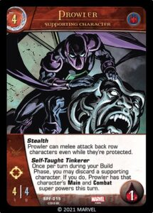 2018-upper-deck-marvel-vs-system-2pcg-spider-friends-supporting-character-prowler