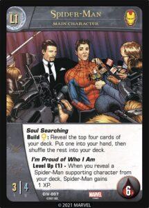 2021-upper-deck-marvel-vs-system-2pcg-civil war-main-character-spider-man-l1p