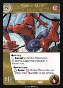 2021-upper-deck-marvel-vs-system-2pcg-civil war-main-character-spider-man-l2a