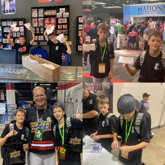 upper deck national sports collectors convention udrak