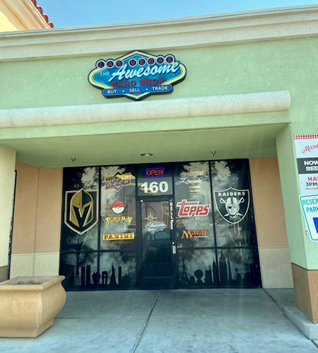the awesome card shop las vegas golden knights upper deck cards
